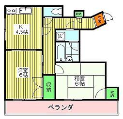10651[4階]の間取り