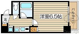 大阪府大阪市北区同心2の賃貸マンションの間取り