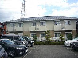 大阪府高槻市春日町の賃貸アパートの外観