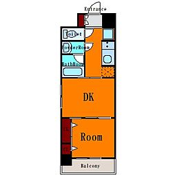 日神デュオステージ大島[4階]の間取り