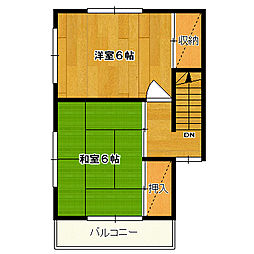 [一戸建] 東京都国分寺市戸倉4丁目 の賃貸【/】の間取り