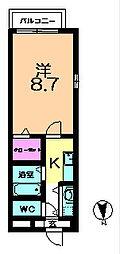 木津駅 3.8万円