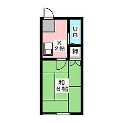 THコーポ[1階]の間取り