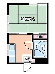 メゾンドール新保[2階]の間取り