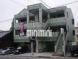 愛知県あま市七宝町安松西高御堂の賃貸マンションの外観