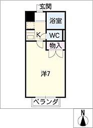 DEUXIEME CONFORT[3階]の間取り