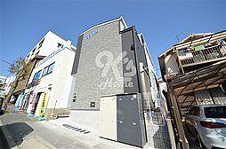 兵庫県神戸市須磨区白川台6丁目の賃貸アパートの外観
