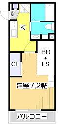オリーブハウス[3階]の間取り