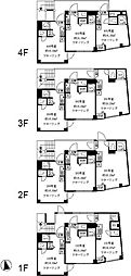 プレシャスイージス 3階ワンルームの間取り