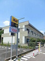 埼玉県川口市大字里の賃貸アパートの外観