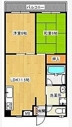トータスビル[4階]の間取り