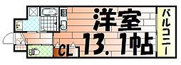 エトワール・ド・ヒサノ[102号室]の間取り