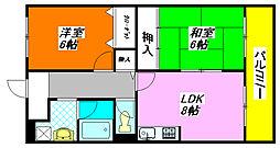 ファミーユ 501号室[5階]の間取り