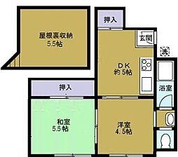 第三草薙ビル[4階]の間取り