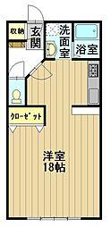おしゃれハウス3[A202号室]の間取り