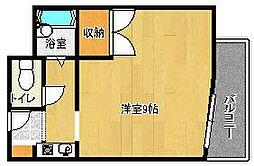 ネオコーポ四条畷駅前[1階]の間取り