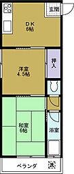 第一草薙ビル[2階]の間取り