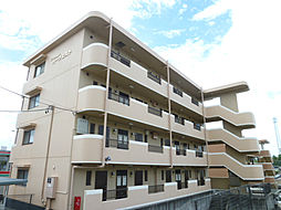 静岡県磐田市富丘の賃貸マンションの外観