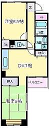 コート武田[2階]の間取り