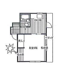 サンレオマンション bt[301kk号室]の間取り