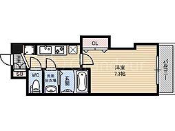 ラグゼ都島3[6階]の間取り
