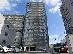 北海道札幌市中央区南四条西13丁目の賃貸マンションの外観