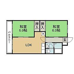 滝尾駅 4.2万円