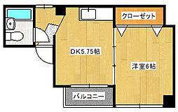 岡井ビル[2階]の間取り