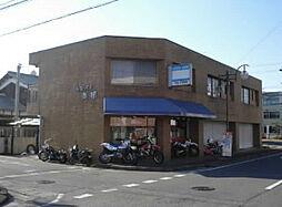 滋賀県湖南市中央2丁目の賃貸アパートの外観