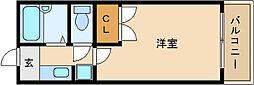 OMレジデンス柏原I[2階]の間取り