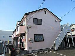 レスペ文京エー[2階]の外観