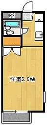 SAKURAテラス湘南[201号室号室]の間取り