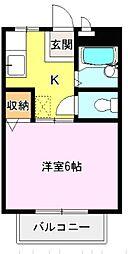 ファインコーポ[2階]の間取り