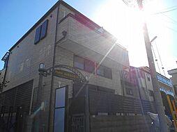 東京都立川市錦町1丁目の賃貸アパートの外観