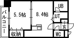 Vertical 18(バーティカル18)[00303号室]の間取り