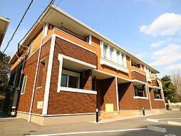 福岡県宗像市河東の賃貸アパートの外観