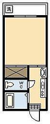 山口コーポ[B2-3号室]の間取り