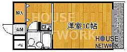 KAWABATAハイツ(川端ハイツ)[516号室号室]の間取り