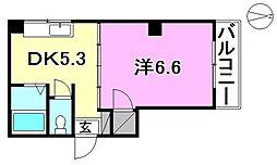 ピロティ小坂[201 号室号室]の間取り