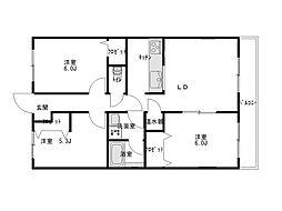 ブレインマンション[3階]の間取り