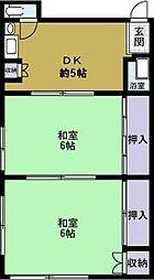 新和マンション[302号室]の間取り