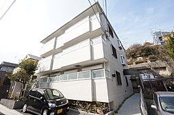 兵庫県宝塚市野上3丁目の賃貸マンションの外観
