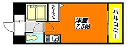 SENTIA・八戸ノ里 104号室[1階]の間取り