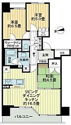 阿倍野松崎町レジデンス[12階]の間取り