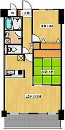 NAGARE35[3階]の間取り