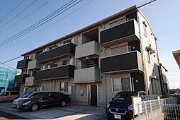 埼玉県越谷市レイクタウン7丁目の賃貸アパートの外観