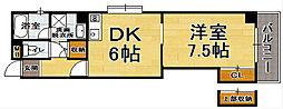 233博多2[9階]の間取り