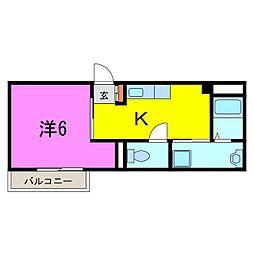 大府市 武藤荘[0101号室]の間取り