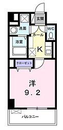 サニーコルソ[1階]の間取り