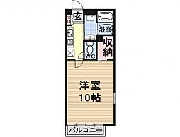 Heights TANAKA site I[101号室号室]の間取り